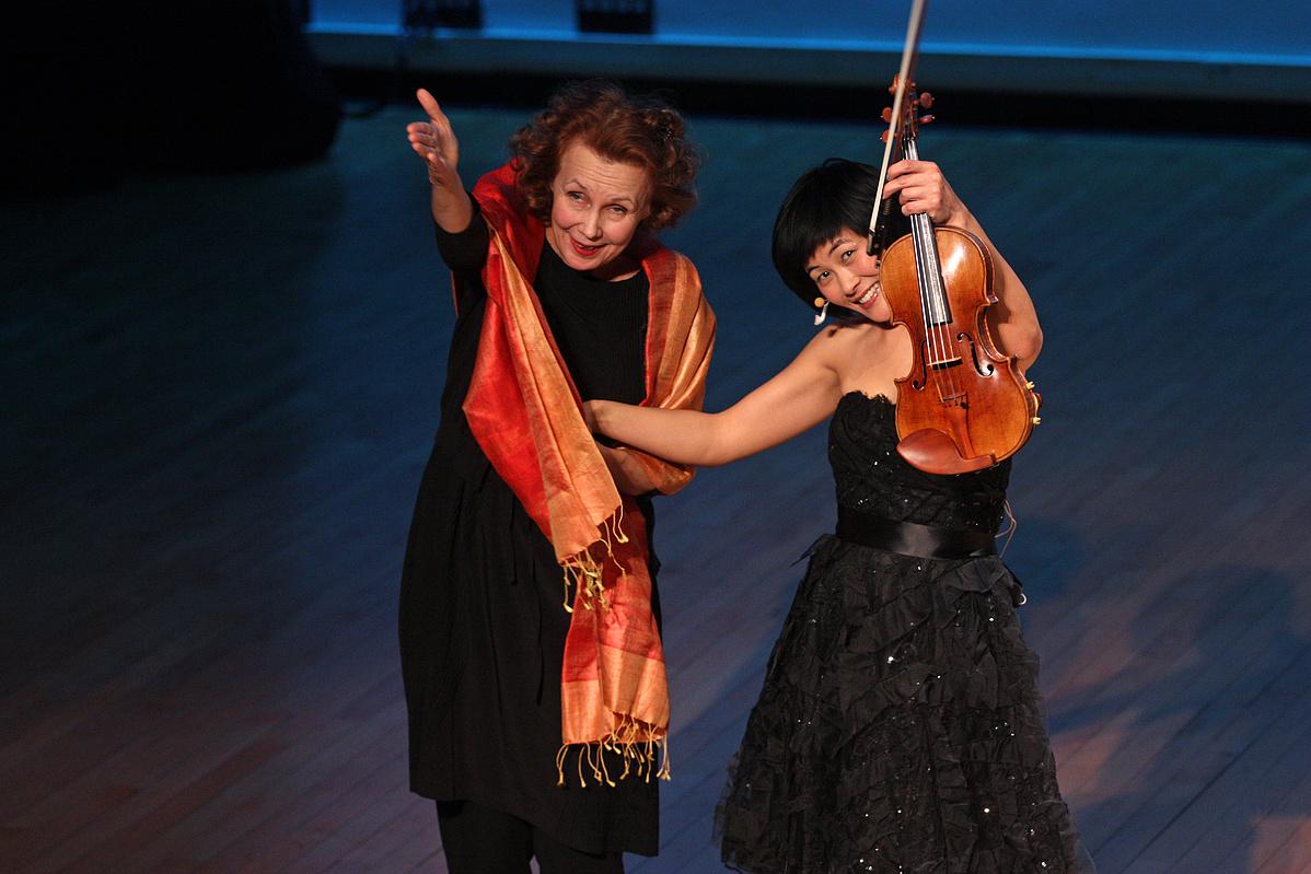 Kaija Saariaho és Jennifer Koh