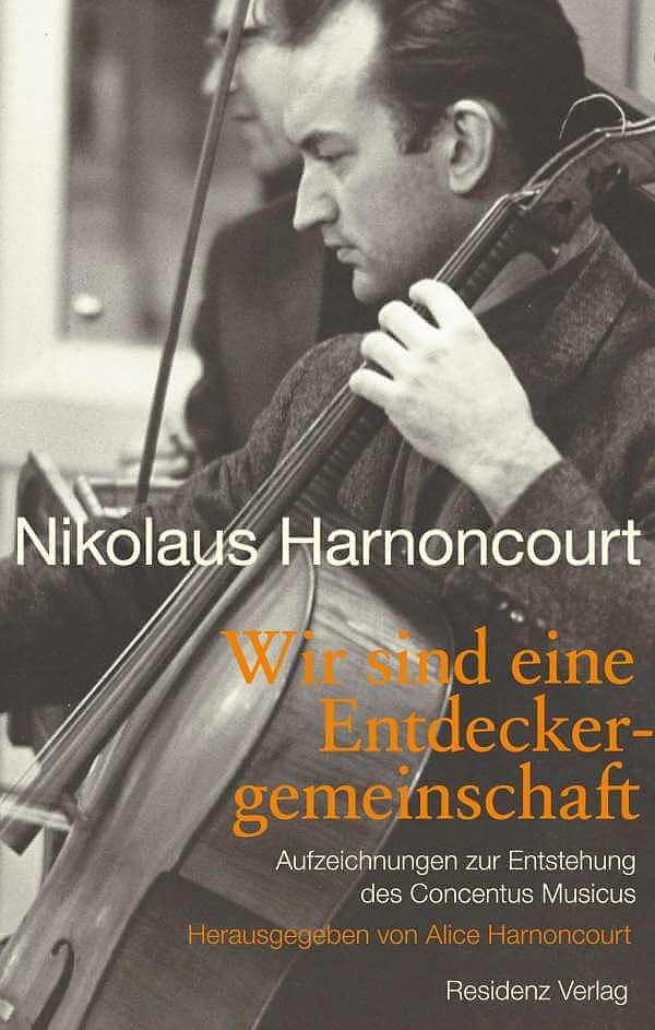 Nikolaus Harnoncourt könyve