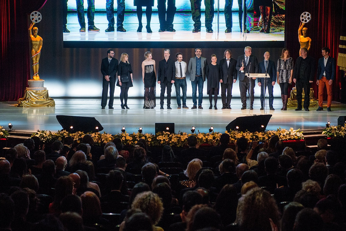 A legjobb játékfilm díját elnyert Testrõl és lélekrõl stábja