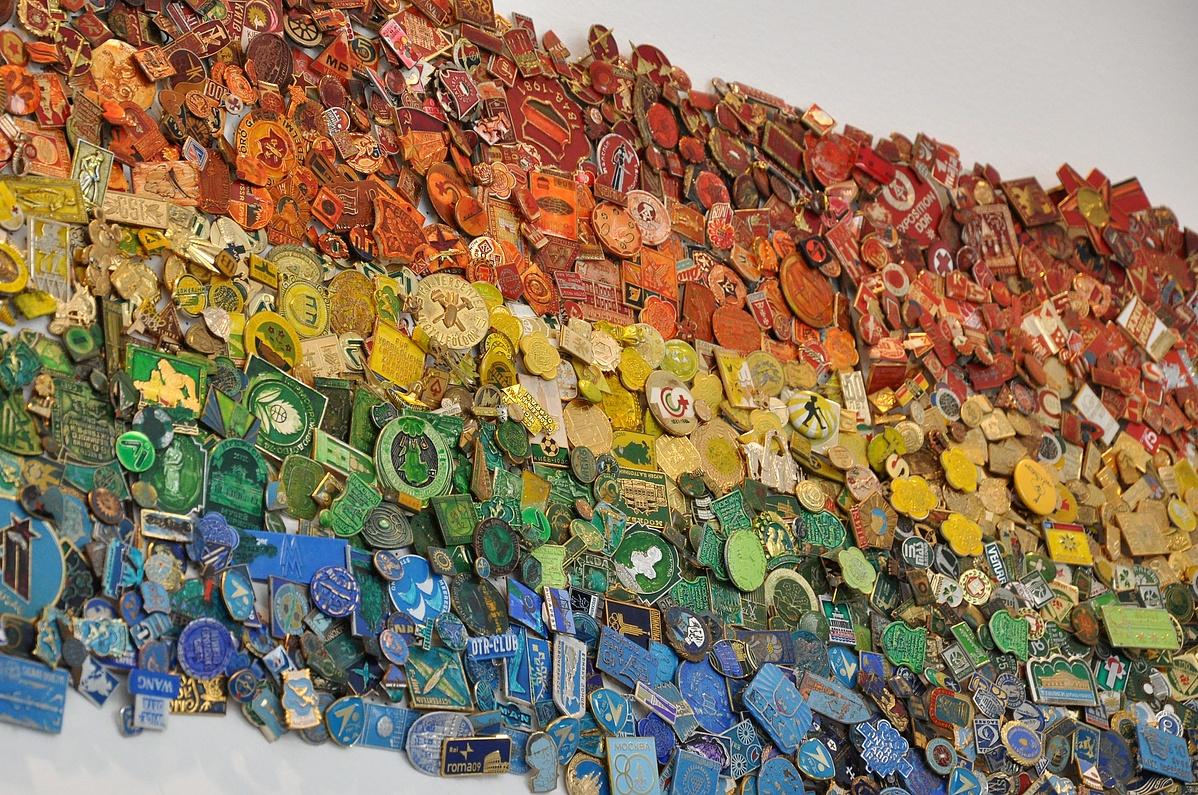 Részlet a Velencei Biennale magyar pavilonjának kiállításából