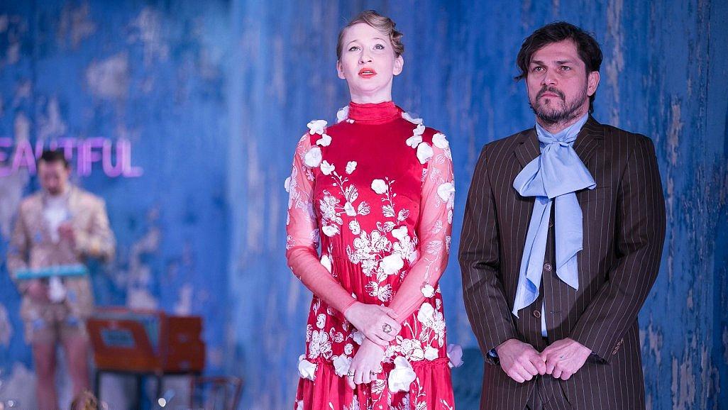 A hattyú - Molnár-darab az Örkény színpadán