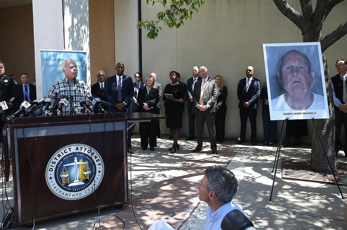 Bejelentik a Golden State Killer elfogását Sacramentoban