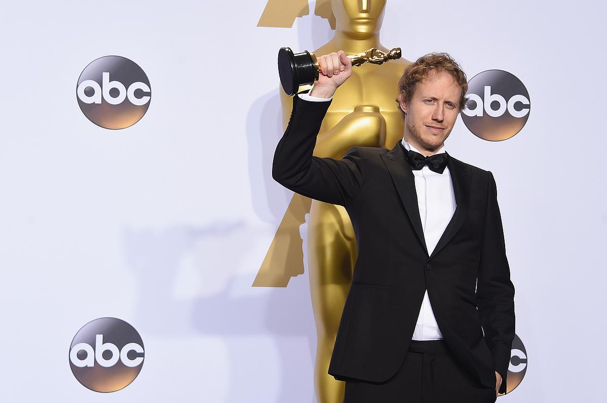 Nemes Jeles László a Saul fiáért kapott Oscar-díjával