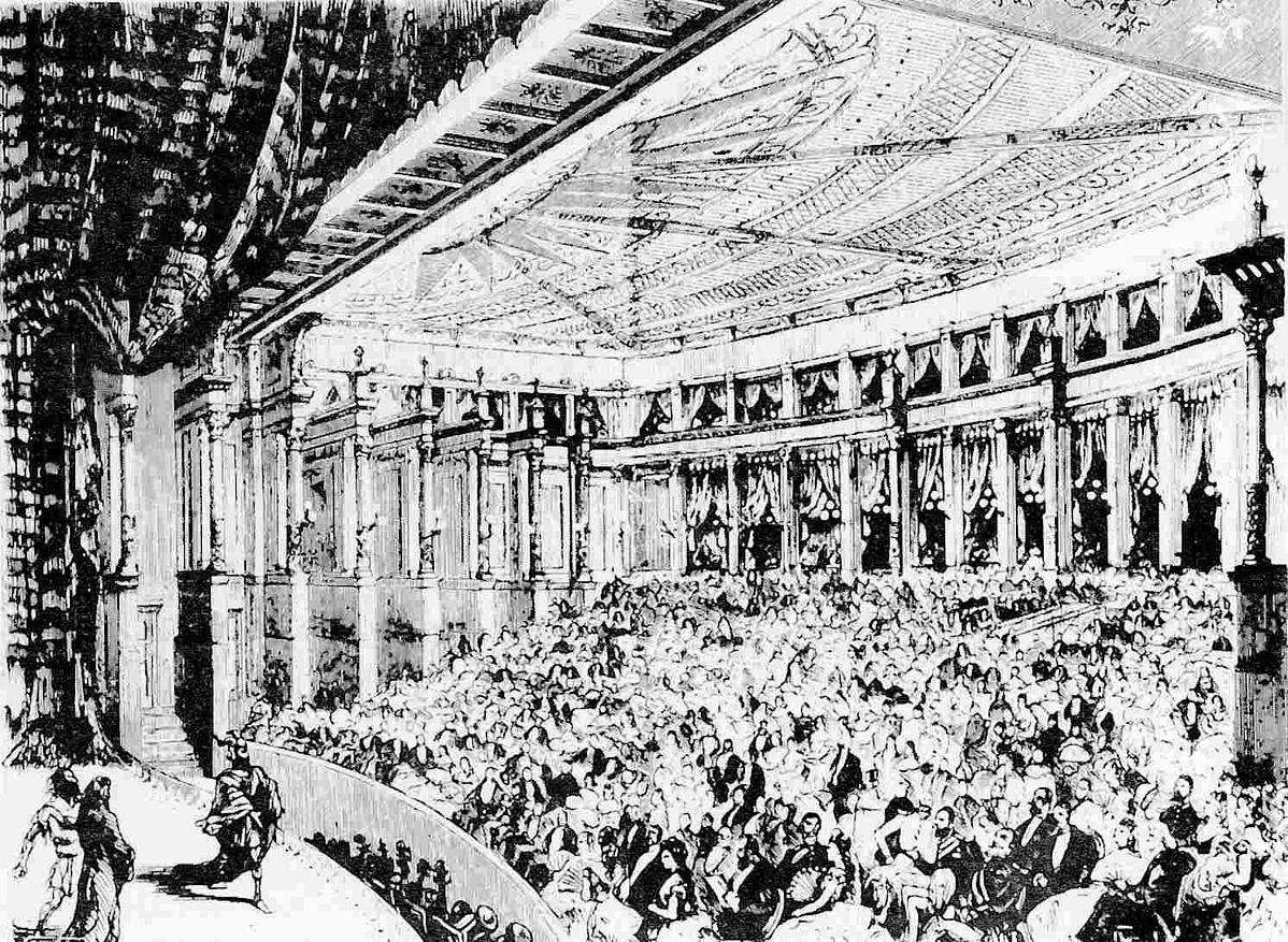 A Rajna kincse előadása Bayreuthban, 1876