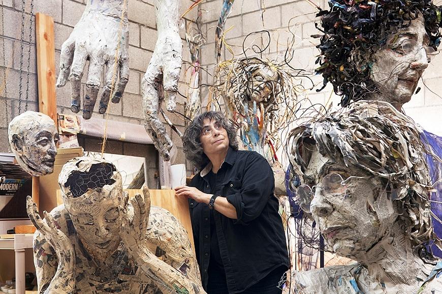 Mindy Alper (forrás: Rosamund Felsen Gallery)