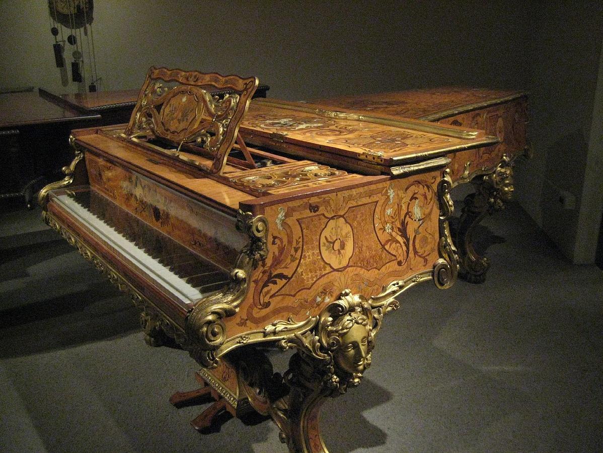Érard gyártmányú zongora (London, 1840 k.)