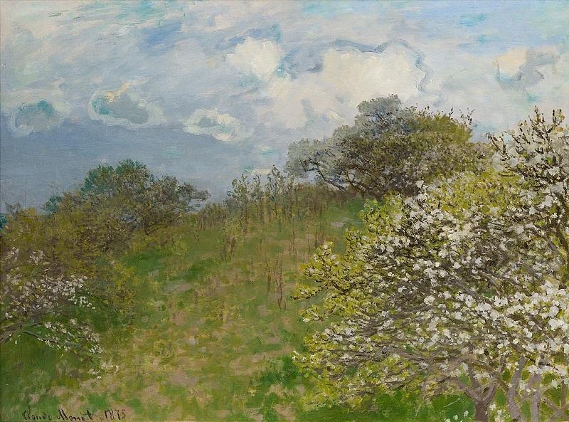 Claude Monet: Tavasz. 1875, olaj, vászon