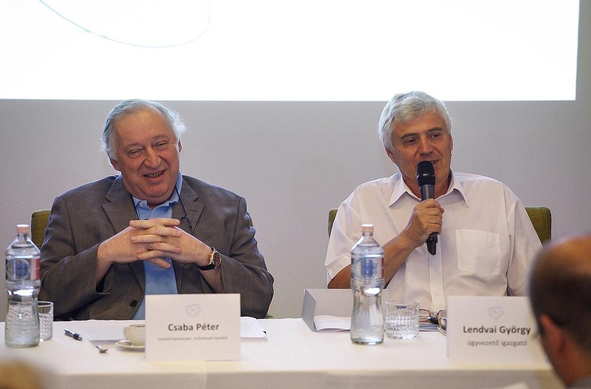 Csaba Péter és Lendvai György