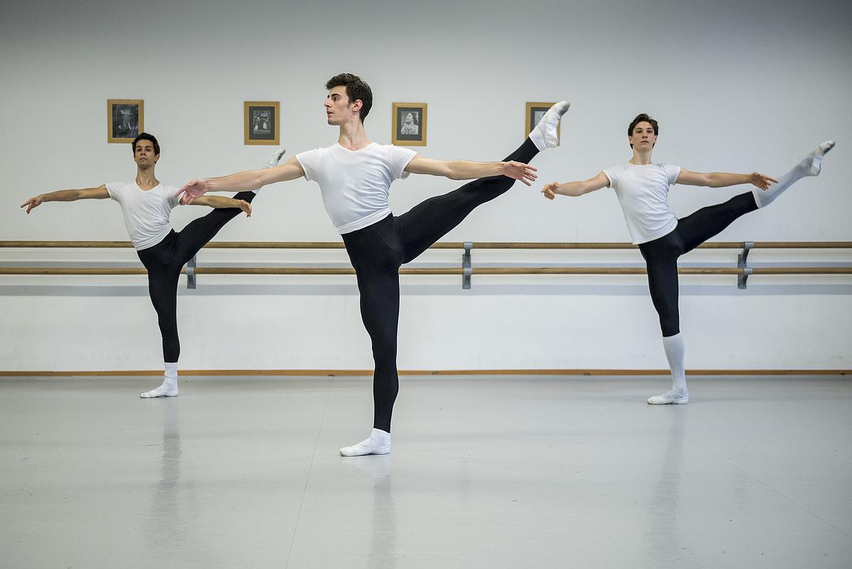 Kovács Kristóf és társai, a MTE tavaly végzett balettnövendékei (képünk illusztráció)