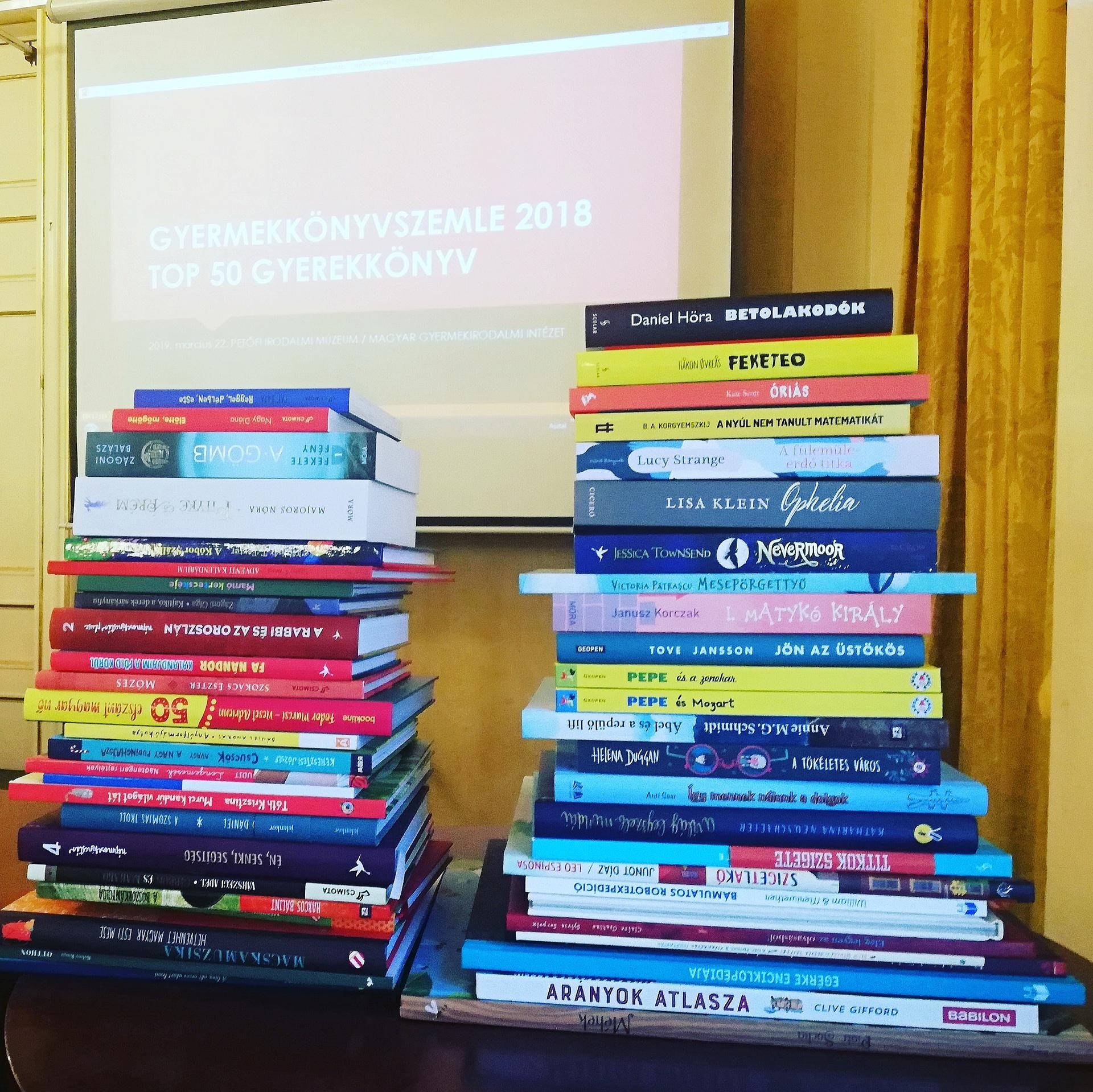 Ezek 2018 legjobb gyerekkönyvei a Magyar Gyermekirodalmi Intézet szerint