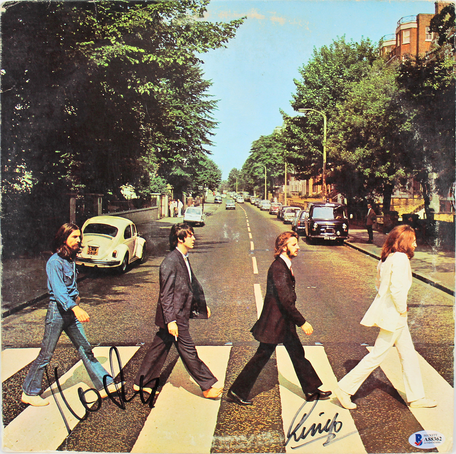 50 éves a Beatles legendás zebrás fotója
