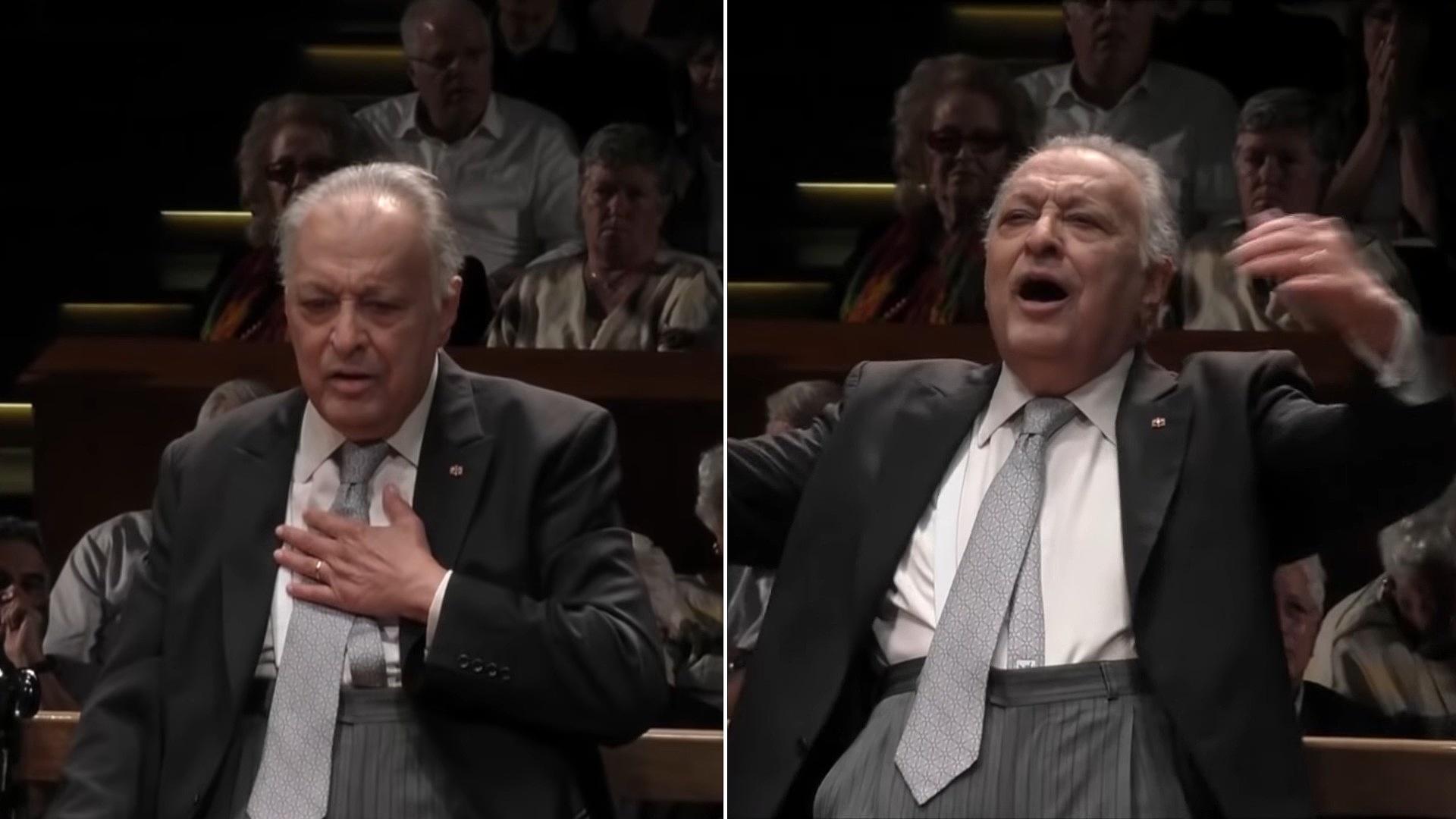 Zubin Mehta a Feltámadás-szimfóniát vezényelte utolsó koncertjén – VIDEÓ