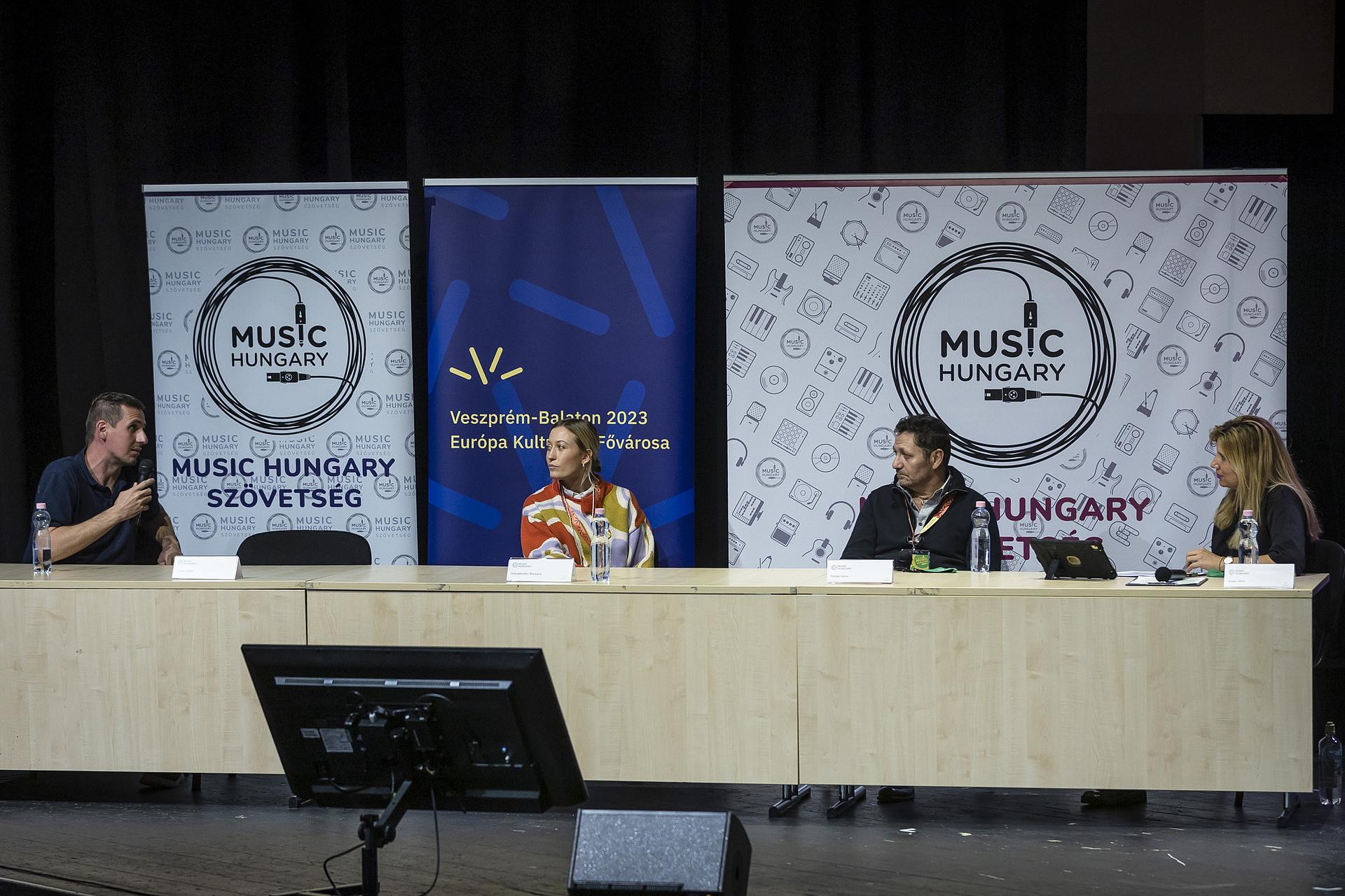 A zeneipar helyzete volt a téma a Music Hungary Konferencián